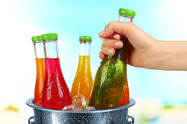 Consumers can already tell a juice and carbonated beverages' flavor by its color.