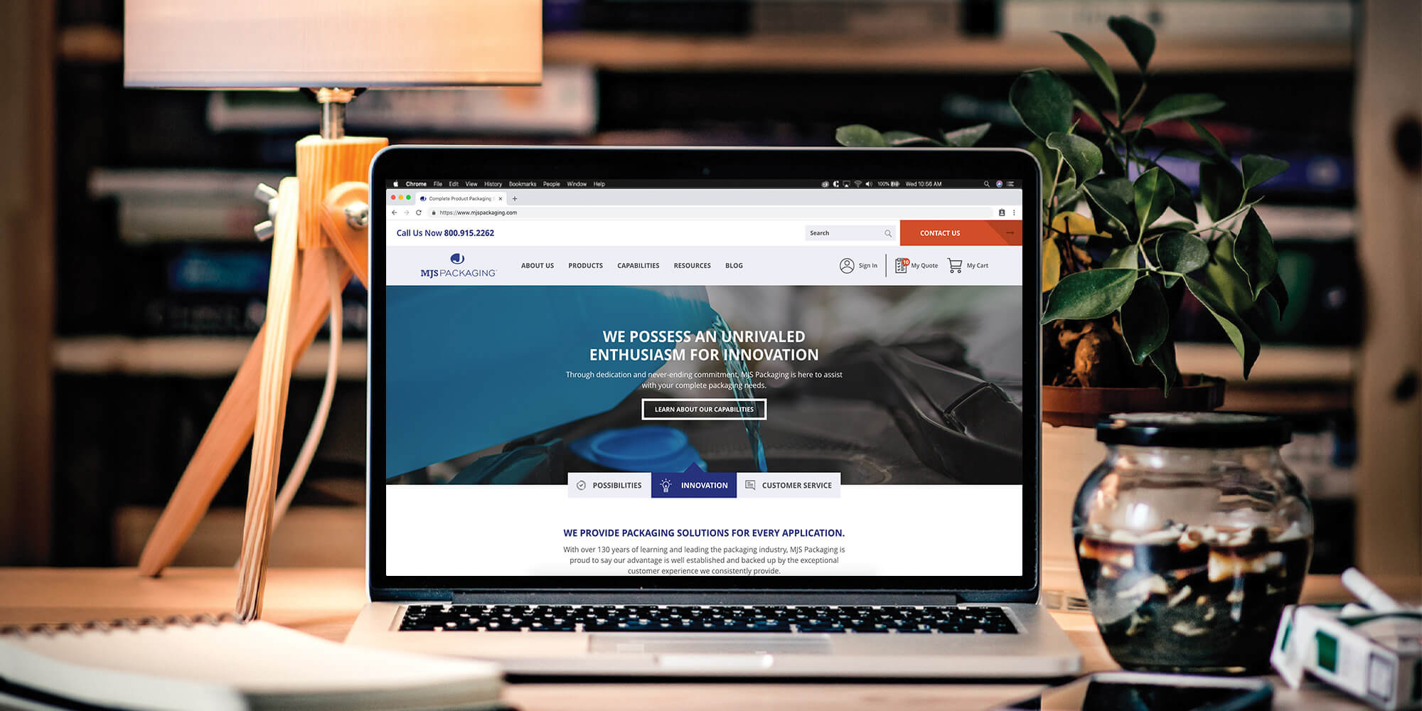 MJS Packaging Announces New Ecommerce Website Featured Image