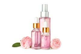 Mister and spray bottles for fragrance and essential oils packaging