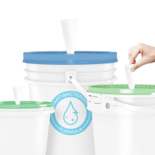 Pail Options for Bulk Sanitizer and Cleaner