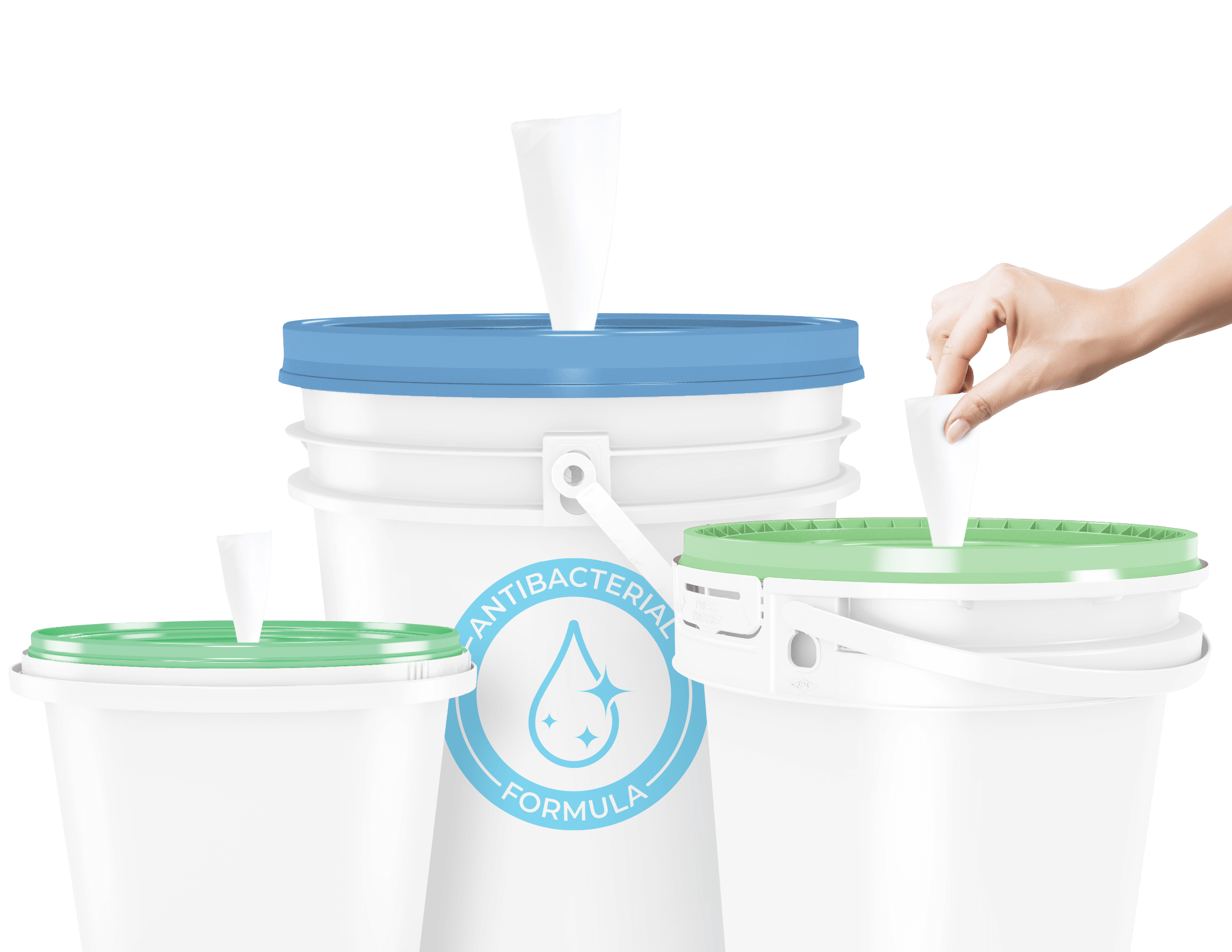 Pail Options for Bulk Sanitizer and Cleaner Featured Image